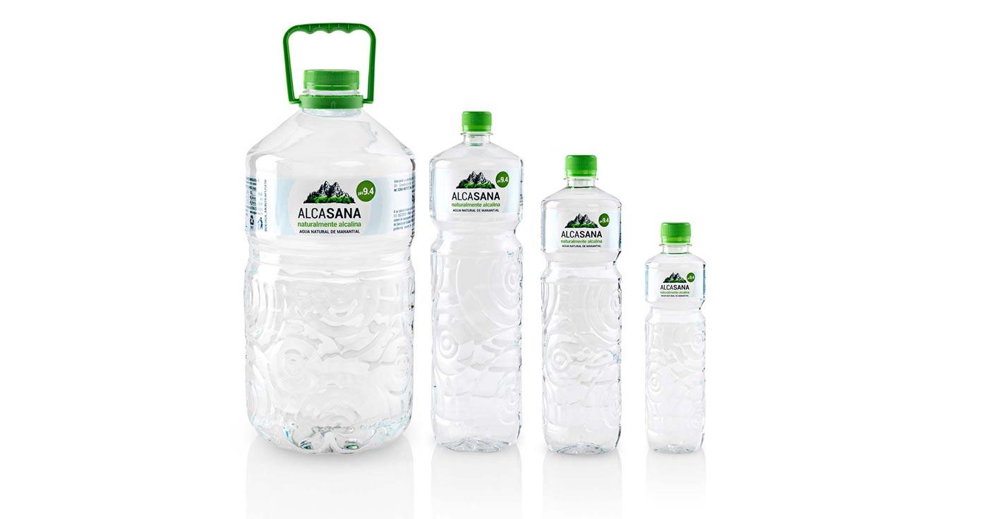 Agua Alcalina Alcasana