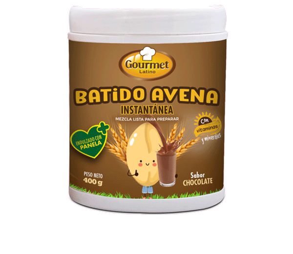 Batido Avena instantánea Chocolate